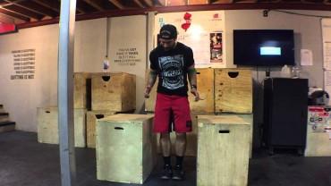 WODdoc Episode 299 Project365: Box Dip Shoulder Mob