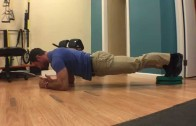 WODdoc Episode 350 Project365: Single Leg Plank