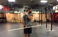 WODdoc Episode 394 P365: Improve Neck Mobility Using The Shoulder Pass Through Drill
