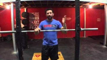 WODdoc Episode 463 P365: Fixin Your Front Rack; Chicken Wing Lat Mash