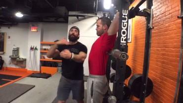 Episode 589 P365: Squat Rack To Stall Bar