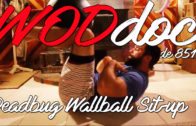 Deadbug Wallball Sit-up | Ep. 851