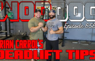 Brian Carroll's Deadlift Tips | Ep. 858