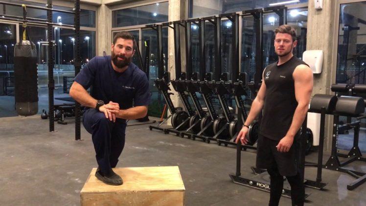 Partner Shoulder Stretch; External Rotation   Ep. 1019