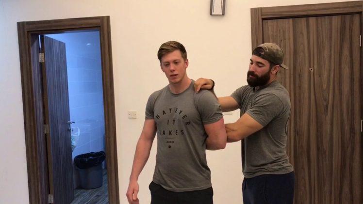 Shoulder Partner Stretch   Ep. 1017