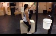 WODdoc Episode 147 Project365: Pistol Box Squat Setup Progression & Peel Back
