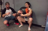 Episode 596 P365: Squatting Wallball Hugs With Kari Pearce