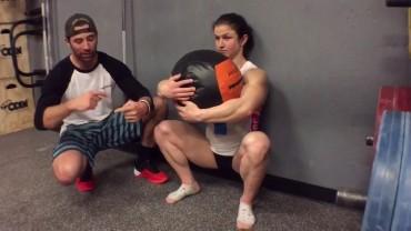 Episode 596 P365: Squatting Wallball Hugs With Kari Pearce