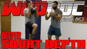 Get Better Squat Depth | Ep. 863