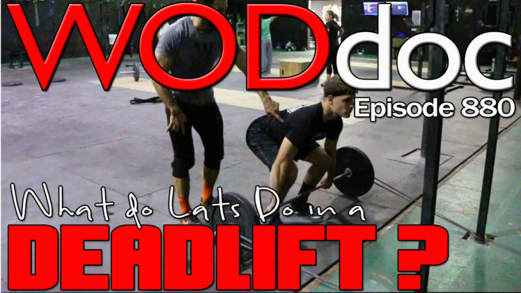 Lats Stabilize Deadlifting | Ep. 880