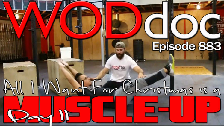 All I Want For Christmas Is A Muscle-up; Day 2 | Ep. 883